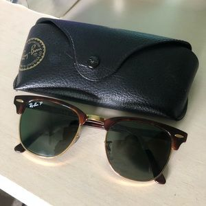 Ray-Ban Polarized Clubmasters
